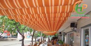 Làm mái xếp lượn sóng giá rẻ tại hà nội Hòa Phát Việt Nam